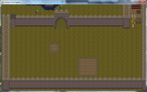 First try at the level design. tiles are in place.